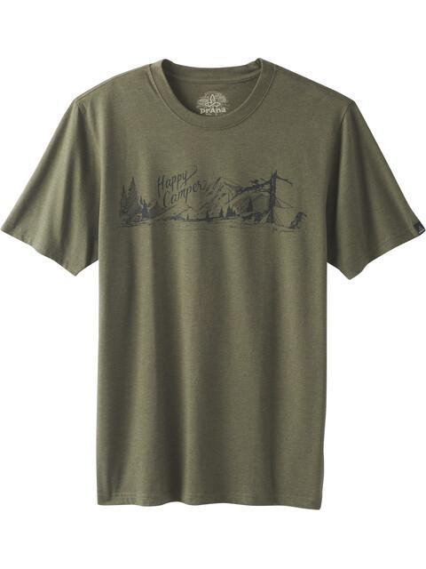 Prana Trail SS T-Shirt Men cargo green